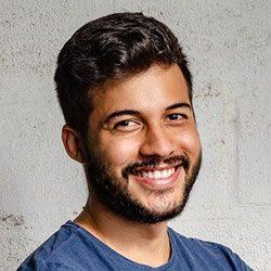 man-smiling