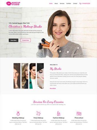Make-up artist screenshot