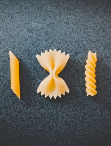 Pasta slices
