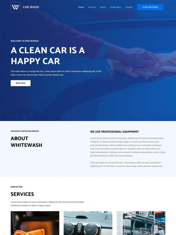 "Car Wash <br/> <a href=""//websitedemos.net/car-wash-08"" target=""_blank""> See a Live Preview!</a>"